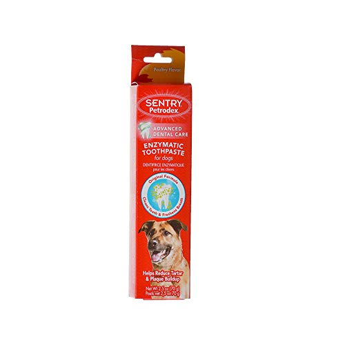 (Enzymatic Toothpaste for Dogs Poultry Flavor 2.5 oz for Dental Care from Petrodex)