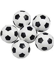 Mini Voetballen Plastic Bal Tafelblad Voetbal Game Vervanging 6 Stks tafel voetbal foosballs