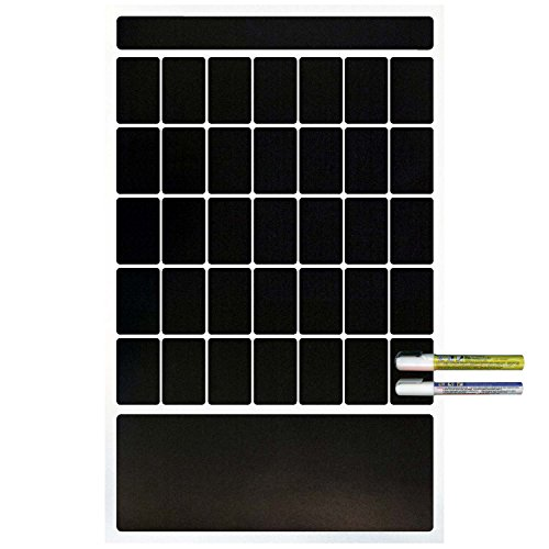 (Cohas Magnetic Backed 1 Month Calendar Includes White Markers, Blackboard, French Door)