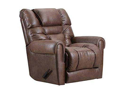Mocha Glider Recliner - Lane Home Furnishings 4210-16 Gatlin Mocha Swivel/Glider Recliner Medium