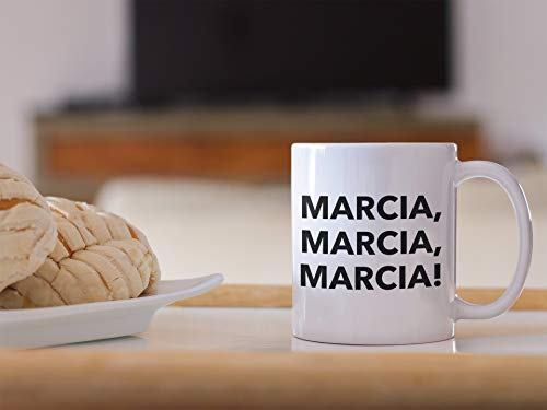(The Brady Bunch Mug, Marcia, Marcia, Marcia!, The Brady Bunch, The Brady Bunch Lover, The Brady Bunch Gift, Gift for Him, Gift for Her)