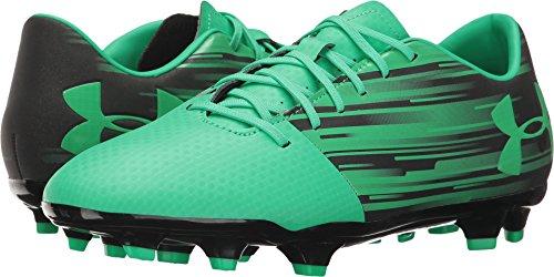 Under Armour Spotlight DL FG–Botas de Fútbol Para Hombre, Verde/Negro