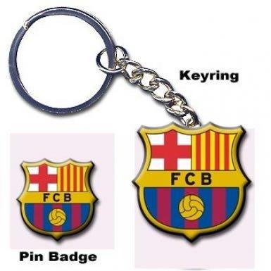 FC Barcelona Keyring & Badge Set by Barcelona ()