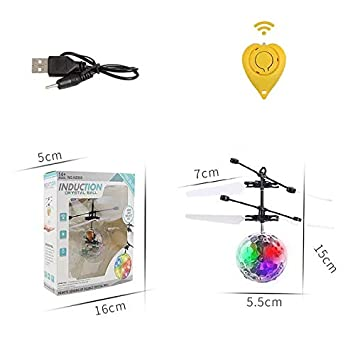 Pelota voladora RC, Juguete, helicóptero de inducción por ...