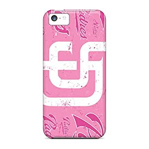 Perfect San Diego Padres Case Cover Skin For Iphone 5c Phone Case
