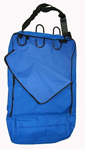 Deluxe Bridle Halter Tote Bag with Removable Tack Rack Royal Blue by AJ Tack Wholesale