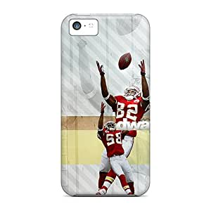 Durable Protector Case Cover With Kansas City Chiefs Hot Design For Iphone 5c