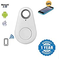 Blazr Wireless Bluetooth 4.0 Anti-Lost Anti-Theft GPS Alarm Device for Tracking and Recording Compatible with All Smartphones (Multi-Colour)