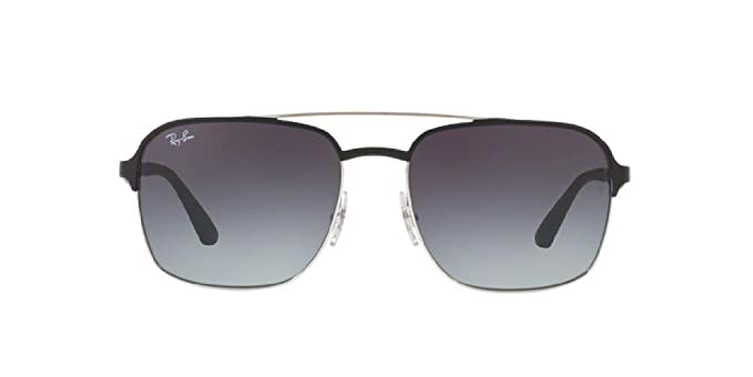 eceb438c164 Image Unavailable. Image not available for. Color  Ray-Ban RB3570 Authentic  Mens Metal Sunglasses. Color Black (9004 8G)