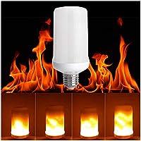 LED Flickering Flame Light Bulb, E26 Base, 3 Lighting...