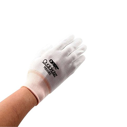 Qualakote ESD-Safe Economy Assembly Inspection Gloves, Large
