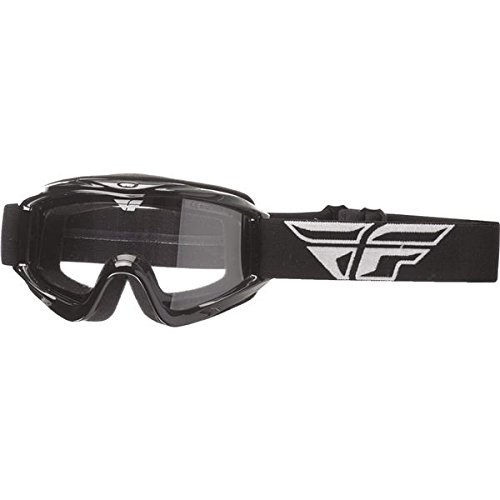 Fly Racing Men's Focus Goggle(Black W/Clear Lens, One Size),1 Pack