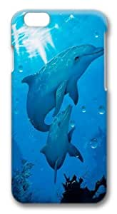 iPhone 6 Case, iPhone 6 Cases -Dolphins Polycarbonate Hard Case Back Cover for iphone 6 4.7 inch 3D wangjiang maoyi
