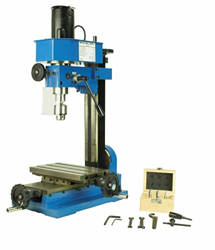 Erie Tools Variable Speed Mini Milling Machine Benchtop Drilling and Machining Gear Driven with Adjustable Depth Stop by Unknown