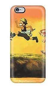 aqiloe diy 3704986K58417222 High Grade Flexible Tpu Case For Iphone 6 Plus - One Pieces Free