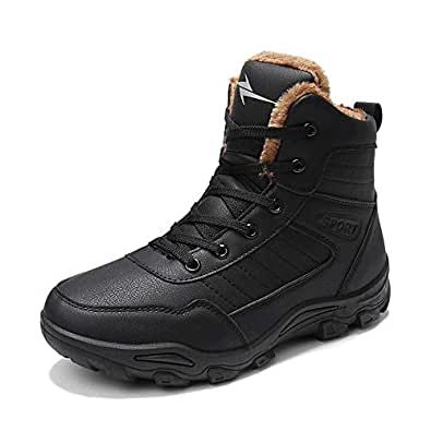 Amazon.com | Cold and Warm lace-up Snow Boots Men's Shoes