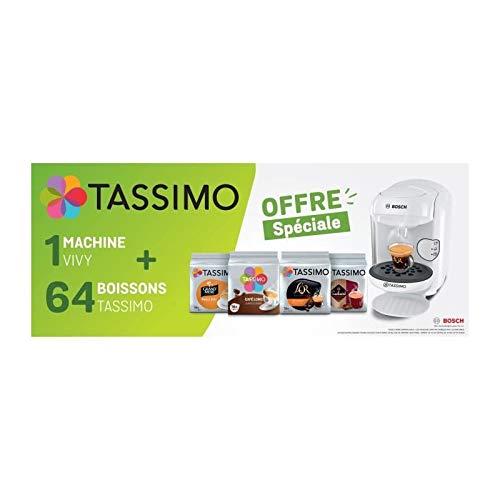 Bosch TASSIMO TAS1404C1 VIVY - Cafetera de café (Incluye 4 ...