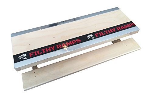 Filthy Fingerboard Ramps Yosemite Picnic Table with Dual Ledges from, for fingerboards and tech Decks by Filthy Fingerboard Ramps (Image #2)