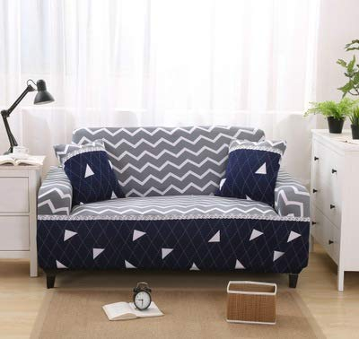 2018 All-Inclusive Sofa Cover Anti-Mite Sofa Towel Big Elastic Slipcover for Single,Double,Three,Four Seat Couch funda para Sofa   Sofa Cover 15, Single seat 75x145cm