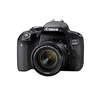 Canon EOS 800D 24.2MP Digital SLR Camera + EF-S 18-55 mm is STM Lens + 16GB Memory Card + Carrycase 7