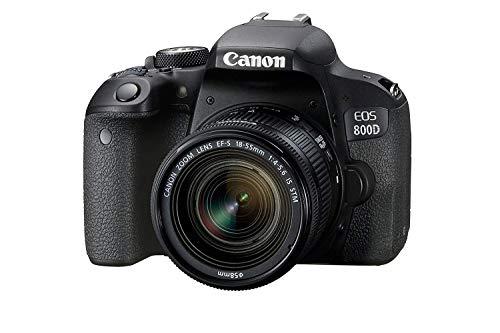 Canon EOS 800D 24.2MP Digital SLR Camera + EF-S 18-55 mm is STM Lens