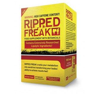 Ripped Freak - Hybrid Fat Burner By Pharmafreak (60 Capsules) Fast Shipping and Ship Worldwide