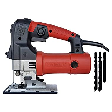 IBELL Professional JIG Saw with LED, 700W, Carrying Case, 3 Blades, 84 Inches Cord 6
