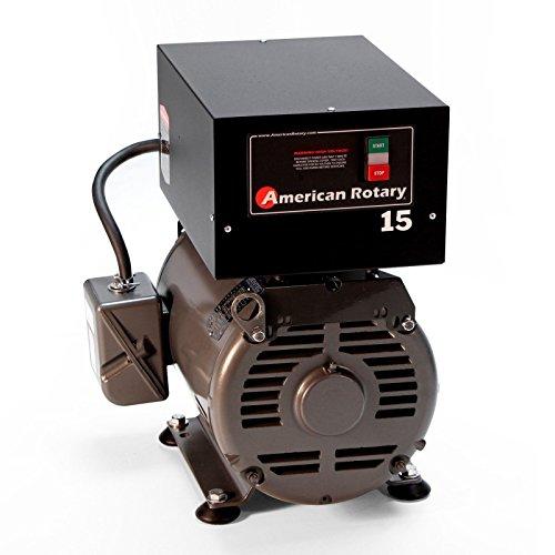 Rotary Phase Converter AR15F 15 HP 1-3 Three PH Made is USA (Converter Rotary Hp 15 Phase)