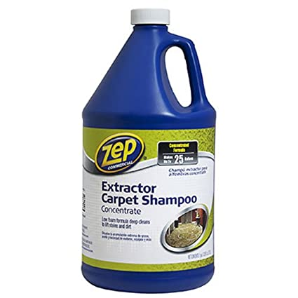 Amazon.com: Zep Carpet Extractor Shampoo 128 ounce ZUCEC128: Home & Kitchen