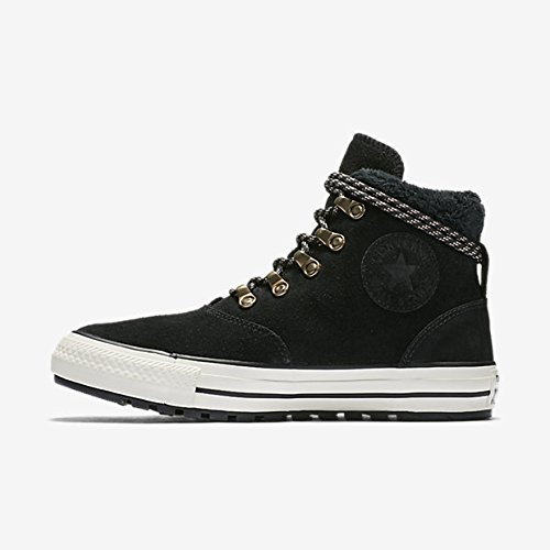 Converse Suede Boot - Converse Womens Chuck Taylor All Star Ember Boot Hi Black Egret Suede Trainers 7.5 US