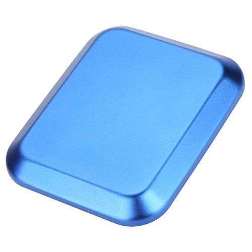 TOOGOO(R) Useful Aluminum alloy Screw Tray with Magnetic Pad for RC Model Phone Car Repair Tool blue