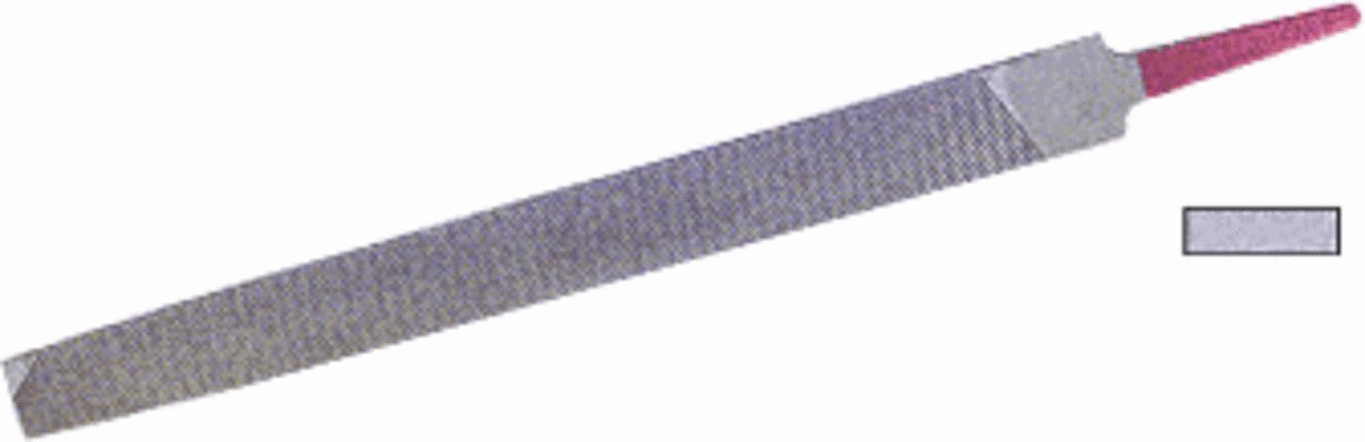 C.R. LAURENCE 2113821 CRL 8'' Flat Aluminum File