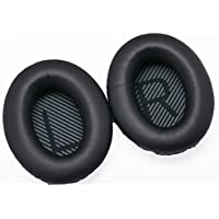 Black For Bose QuietComfort QC35 QC25 QC15 Acoustic Noise Cancelling Headphone Replacement Ear Pad / Ear Cushion / Ear Cups / Ear Cover / Earpads Repair Parts