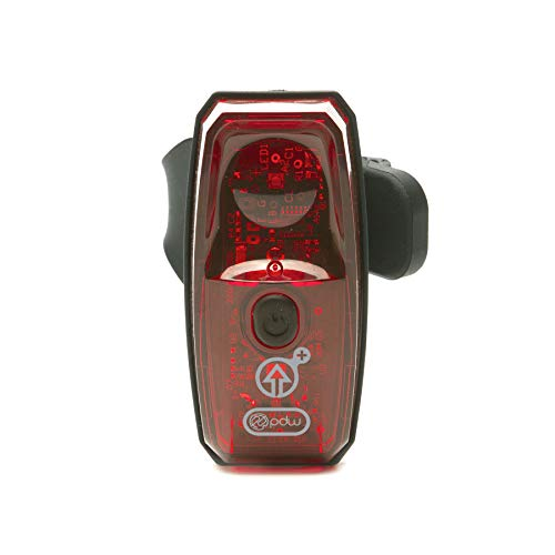 Portland Design Works Gravity+ 100 USB Tail Light with Accelerometer, Red