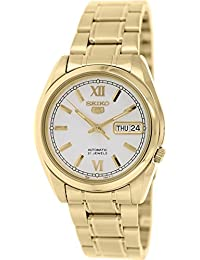 Seiko Men's 5 Automatic SNKL58K Gold Stainless-Steel Automatic Watch