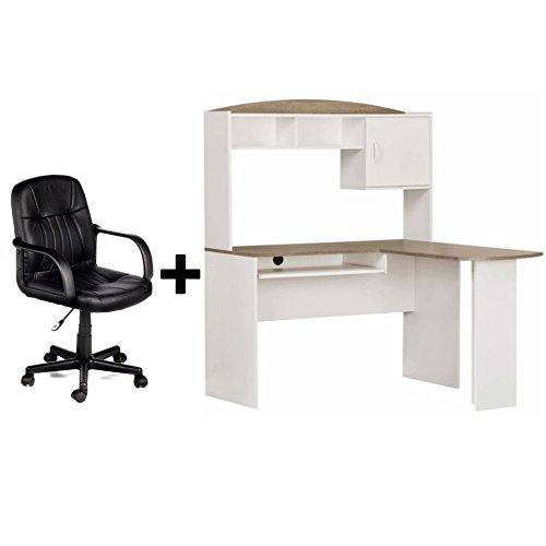 Oak Desk Hutch - 6