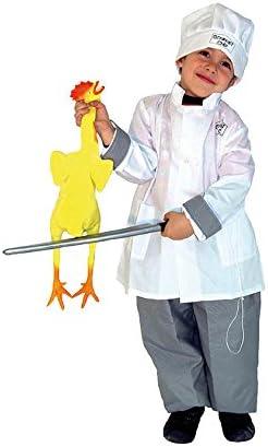 El Carnaval Disfraz Cocinero niño Talla de 4 a 6 años: Amazon.es ...