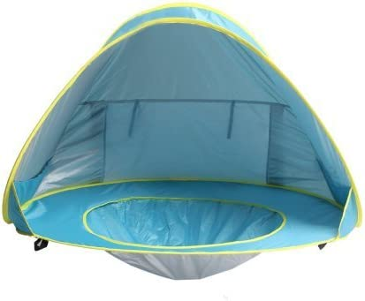 Automatic Pop up Instant Portable Cabana Beach Tent Beach Tent Beach Shelter Sets up in  sc 1 st  Amazon.com & Camping Sun Shelters | Amazon.com