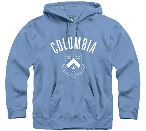 (Ivysport Columbia University Hooded Sweatshirt, Legacy, Columbia Blue,)