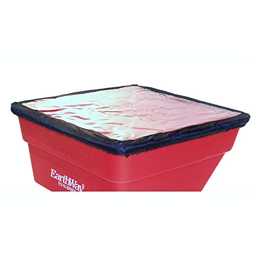 Earthway 77002 Heavy Duty Rain Cover for Broadcast Fertilizer Spreader, Red (2 Pack)