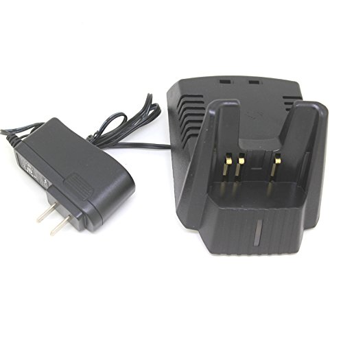 CQtransceiver Smart Desktop Rapid charger for Yaesu Vertex VXA-120 VXA-200 VXA-210 VXA-150 VXA-300 by CQtransceiver
