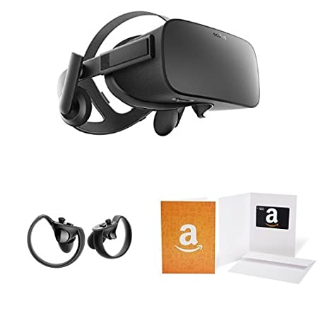 Oculus Rift + Oculus Touch Bundle with $100 Amazon.com Gift Card