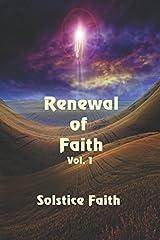 Renewal of Faith Vol. 1 Paperback