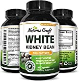 White Kidney Bean 100% Pure Extract - Natural Dietary Supplement for Weight Loss Boost Energy Appetite Suppressant Carb Interceptor Starch Blocker - Potent Formula for Women and Men
