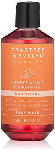 Crabtree & Evelyn Pomegranate & Argan Oil Body Wash, 8.5 fl. oz.