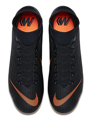Nike Mercurial Superfly VI Academy MG, Scarpe da Calcio Uomo BLACK/TOTAL ORANGE-WHITE