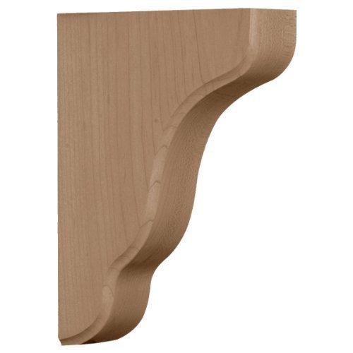 - Ekena Millwork BKTW02X05X08PLRW 1 3/4-Inch W by 5 1/4-Inch D by 7 1/2-Inch H Plymouth Wood Bracket, Rubber Wood by Ekena Millwork