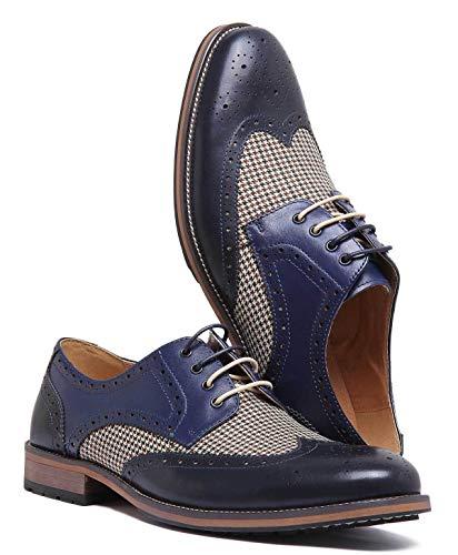 À Marine Lacets Pour Homme Chaussures Bleu Reece Justin Ville De Nicholas vwSXaUX