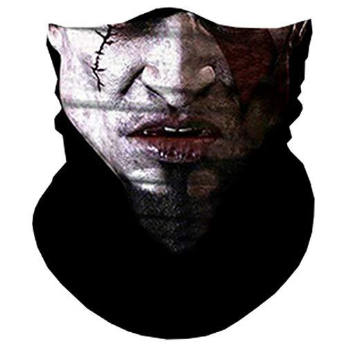 mask Bandana Breathable Ultra-Thin Tube Bandana Skeleton Face Mask I Came Back from Hell. Motorcycle Bike Riding Fishing Hunting