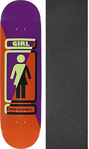 直送商品 Girl Skateboards B07GKSRVCD Mike Carroll 93 Til x Til スケートボードデッキ - 8.37インチ x 31.75インチ モブグリップ穴あきグリップテープ付き - 2個セット B07GKSRVCD, atelier brugge ONLINE:6691390e --- senas.4x4.lt